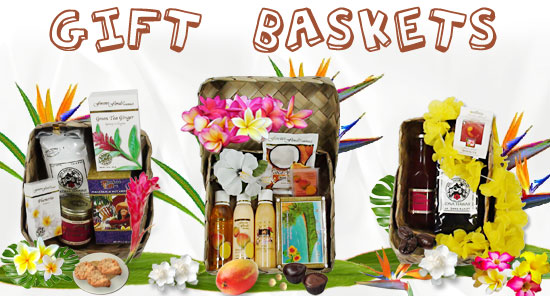 Gift Baskets from Hawaii